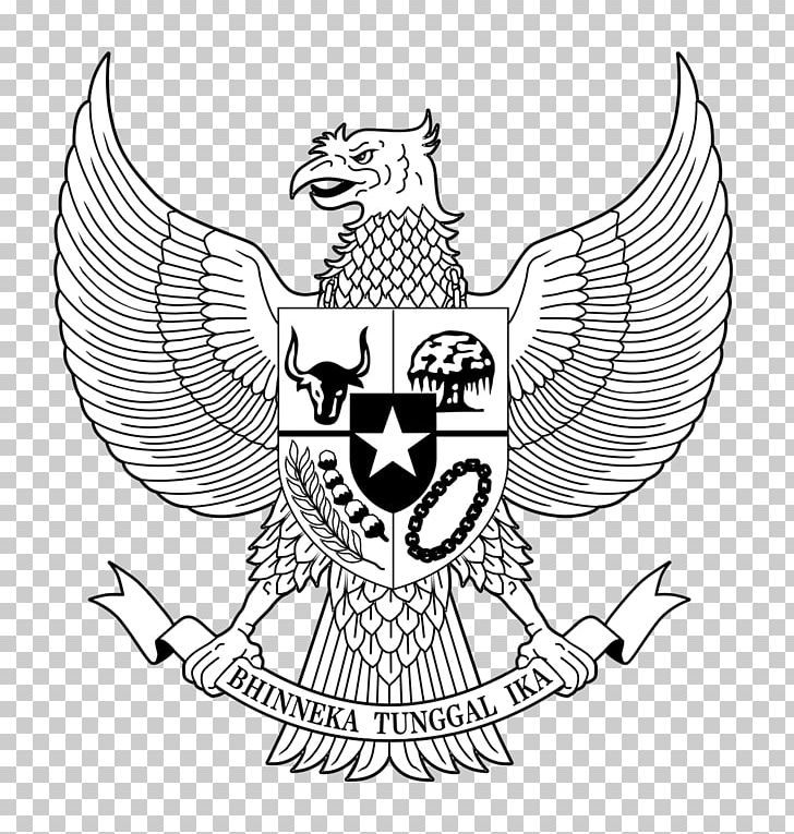 National Emblem Of Indonesia Pancasila Garuda Png Art Artwork Beak Bird Bird Of Prey Garuda Pancasila Garuda Png Garuda Pancasila Png