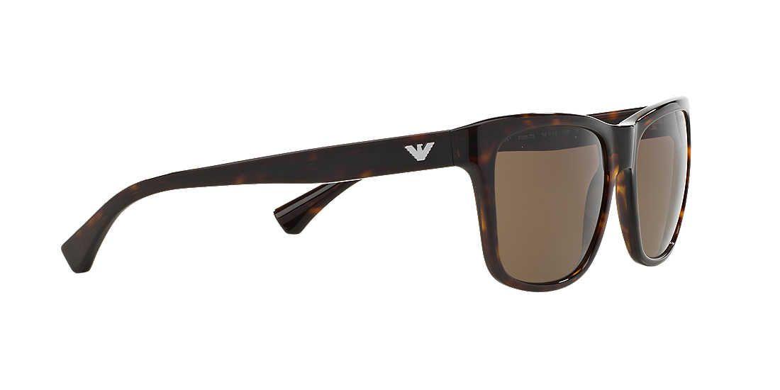 1f1fe716689e Emporio Armani EA4041 56 Brown   Black Sunglasses