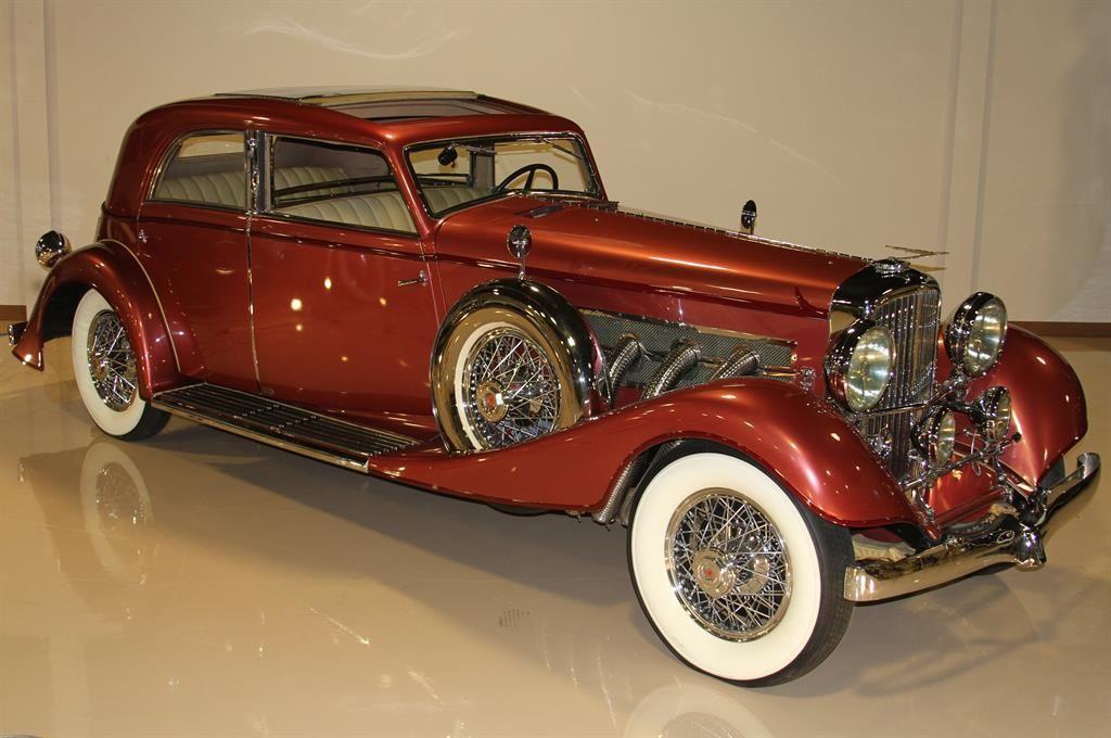 1933 Duesenberg Model J Queen Of Diamonds 8 Zylinder Engine