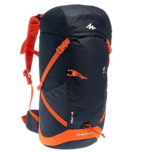 Quechua Forclaz 30 Litres Backpack Black Red Backpacks Black Backpack Hiking Backpack