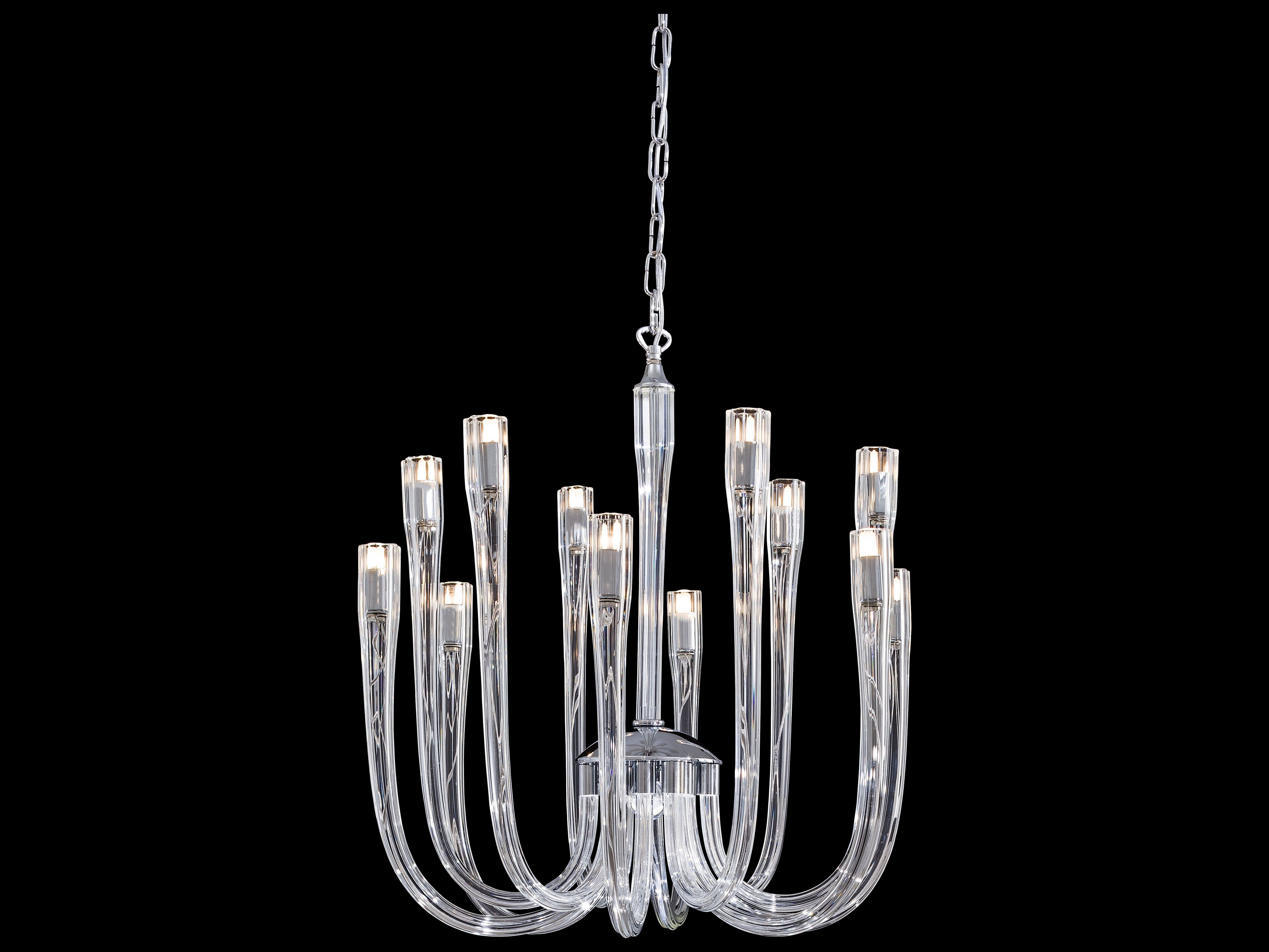 Metropolitan lighting chrome with clear glass 12 lights 22 wide metropolitan lighting chrome with clear glass 12 lights 22 wide chandelier arubaitofo Gallery