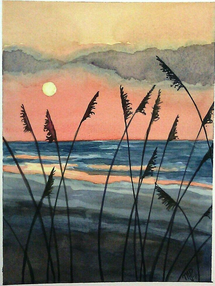 Discover Ideas About Beach Scene Painting