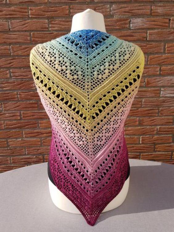 Häkelanleitung Tuch Infinito | Crochet - Scarf / Foulard | Pinterest ...