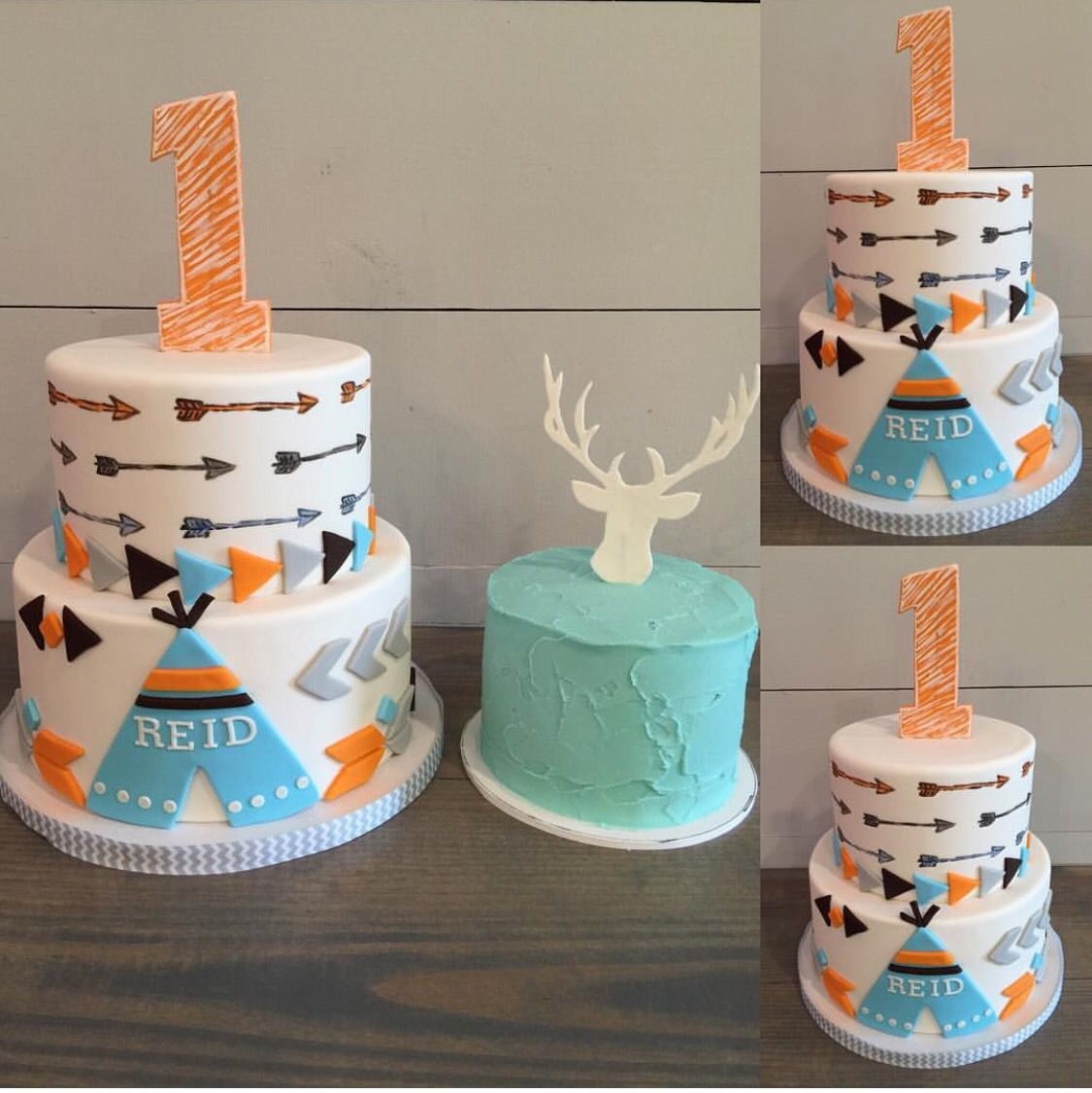 Baby First Birthday Cake Decorating Ideas