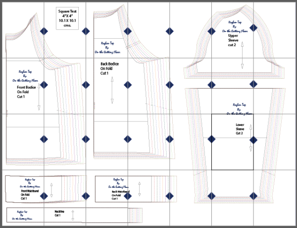 graphic regarding Free Printable Sewing Patterns Pdf identified as Pin upon drafting
