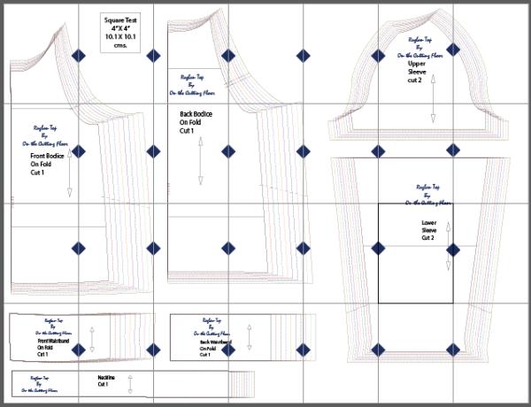 Free Sewing Pattern: Long Sleeve Raglan Top - On the Cutting Floor ...