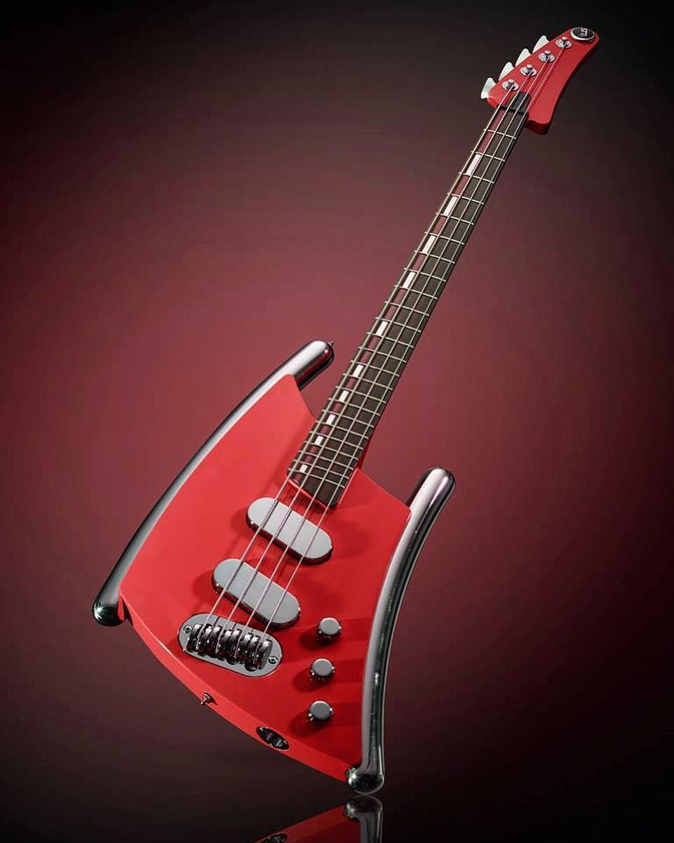 Gus Guitars G5 Bass With Its Unconventional Design It Couldnt Be