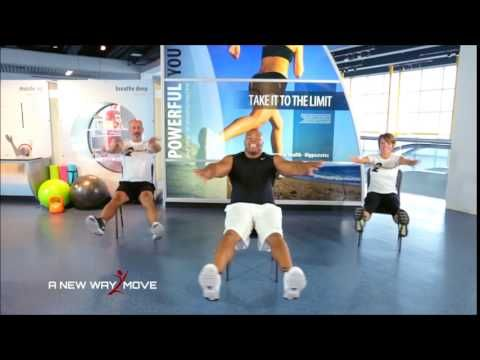 chair exercises on cable tv different world senior core and cardio 55 host curtis adams youtube