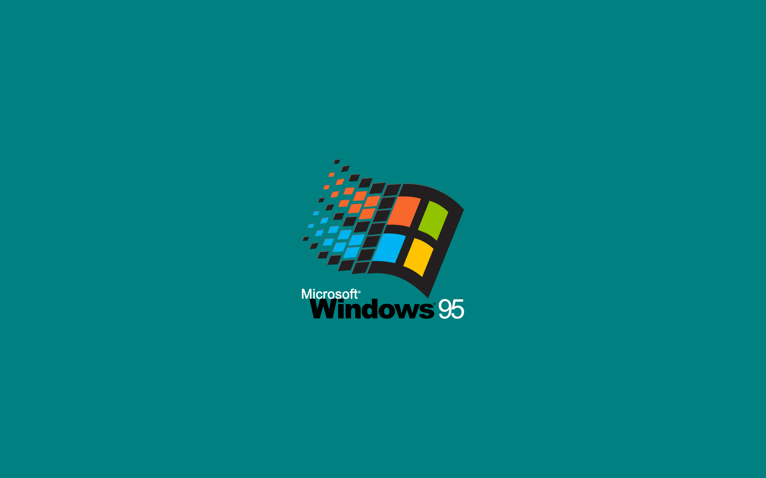 Window Windows 95 Microsoft Windows Microsoft Green Background Minimalism Simple Background Si Windows 95 Wallpaper Windows 10 Windows Wallpaper