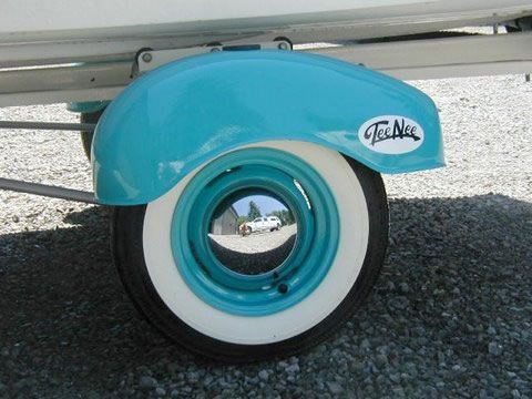Baby Moon Hubcaps For Wheels With Hubcap Clips Wheel Cover Babymoon Retro Trailer
