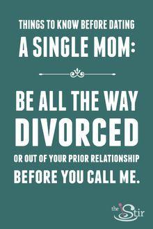 Dating a broke single mom