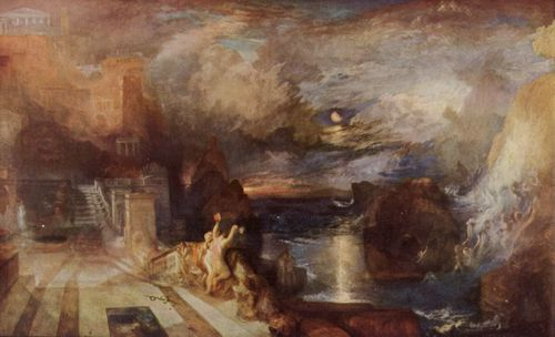 Turner, Joseph Mallord William: Heros und Leanders Abschied (Parting of Hero and Leander – from the Greek of Musæus)