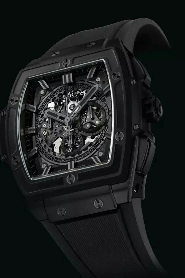 7ef7321ac Hublot Spirit of Big Bang All Black. This shape is in. And it will be with  more watches coming up next weeks. I like it. Its sporty, fresh and new.