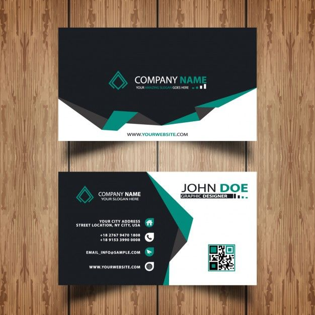 Dark and green visit card free vector business cards dark and green visit card free vector reheart Gallery