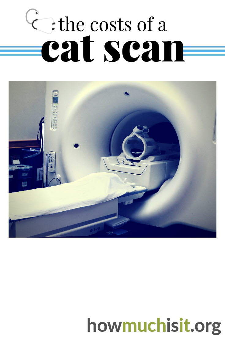 The costs of a cat scan. See what others are paying for