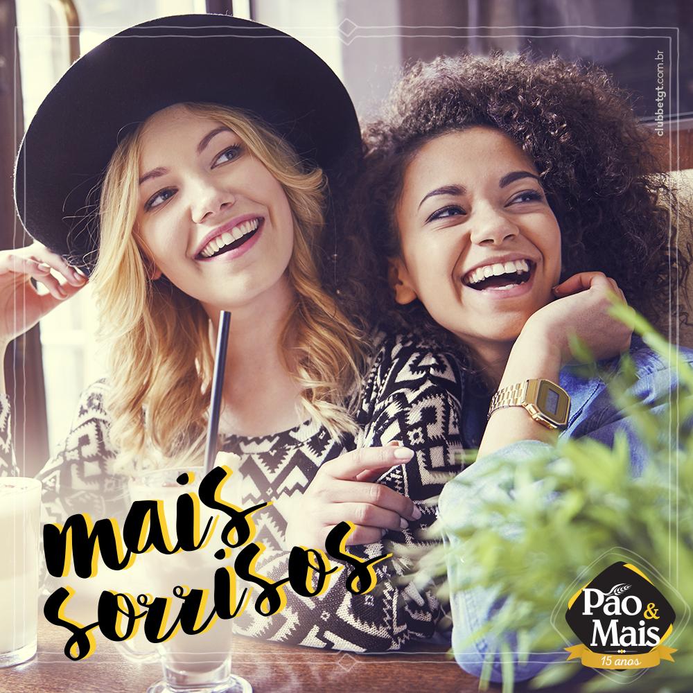 Encerre a semana dando uma passadinha na Pão&Mais com os seus amigos.