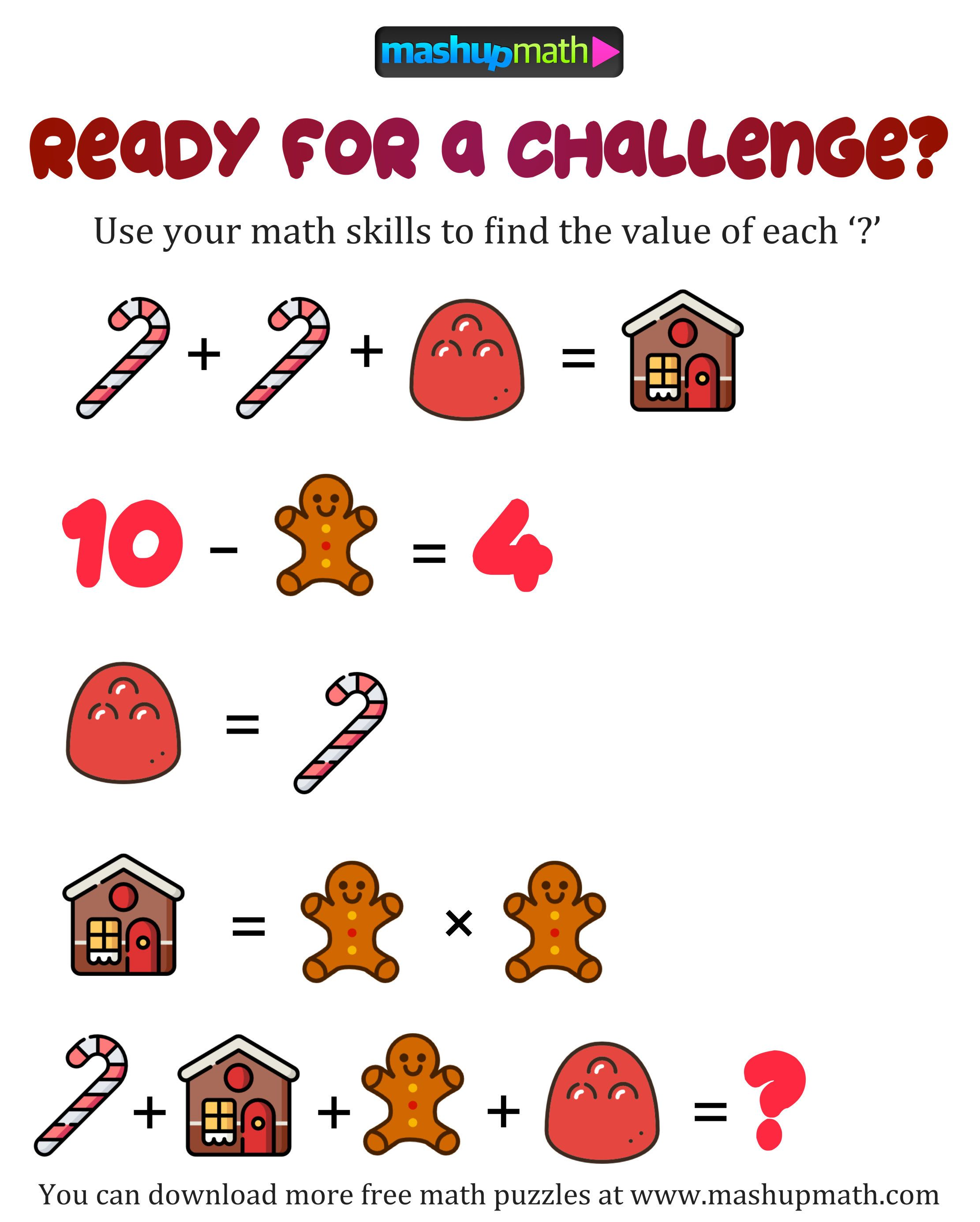 Pin By Cindy Leoppky On Math Challenges