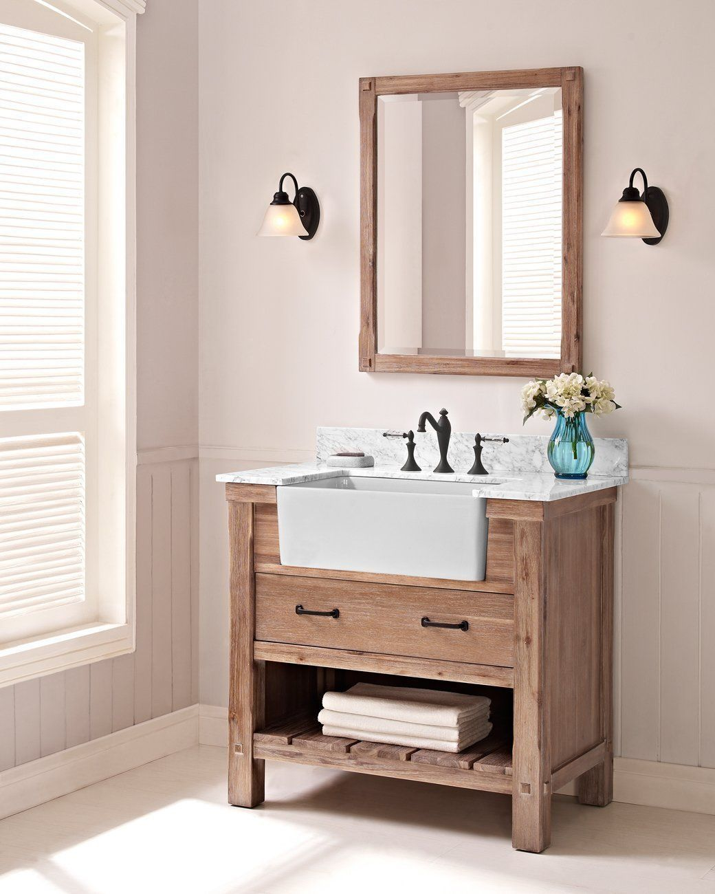 36 Bathroom Vanity Gray: 50 Gorgeous Small Bathroom Vanities Design Ideas
