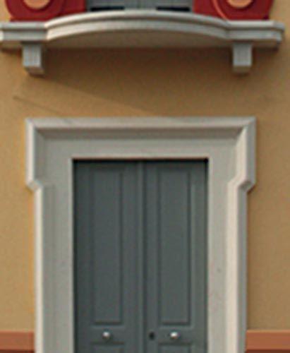 Cornice portale ingresso eleni decor porte d 39 ingresso - Porte per archi ...