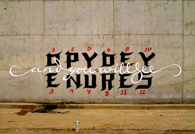 Streetart: Graffiti meets Typography – Greg Papagrigoriou