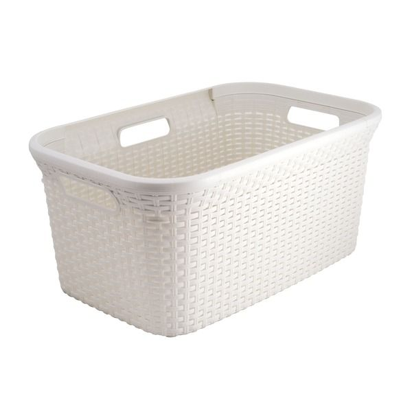 White Laundry Basket I Think This Is Sold At Big W Laundry