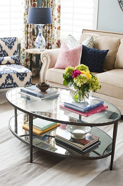 Huge Neutral Striped Rug Bold Stripe Flatweave Rug From Williams And Sonoma Home No Longer Available Colourful Living Room Coffee Table Family Room