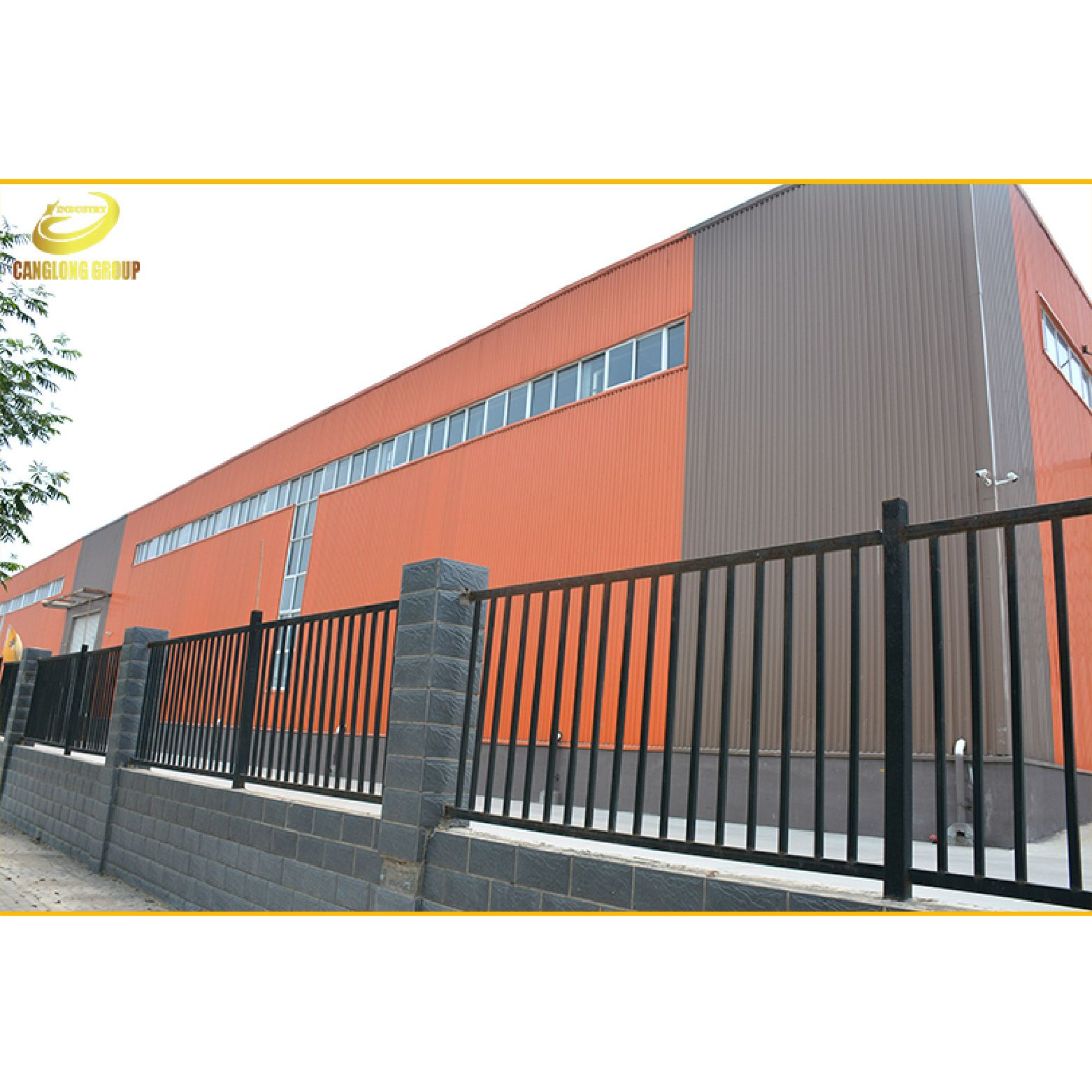 Best Pre Engineered Long Span High Rise Steel Structure 400 x 300