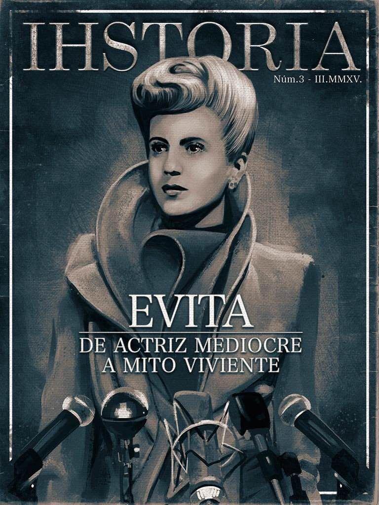 """María Eva Duarte de Perón, """"Evita""""."""