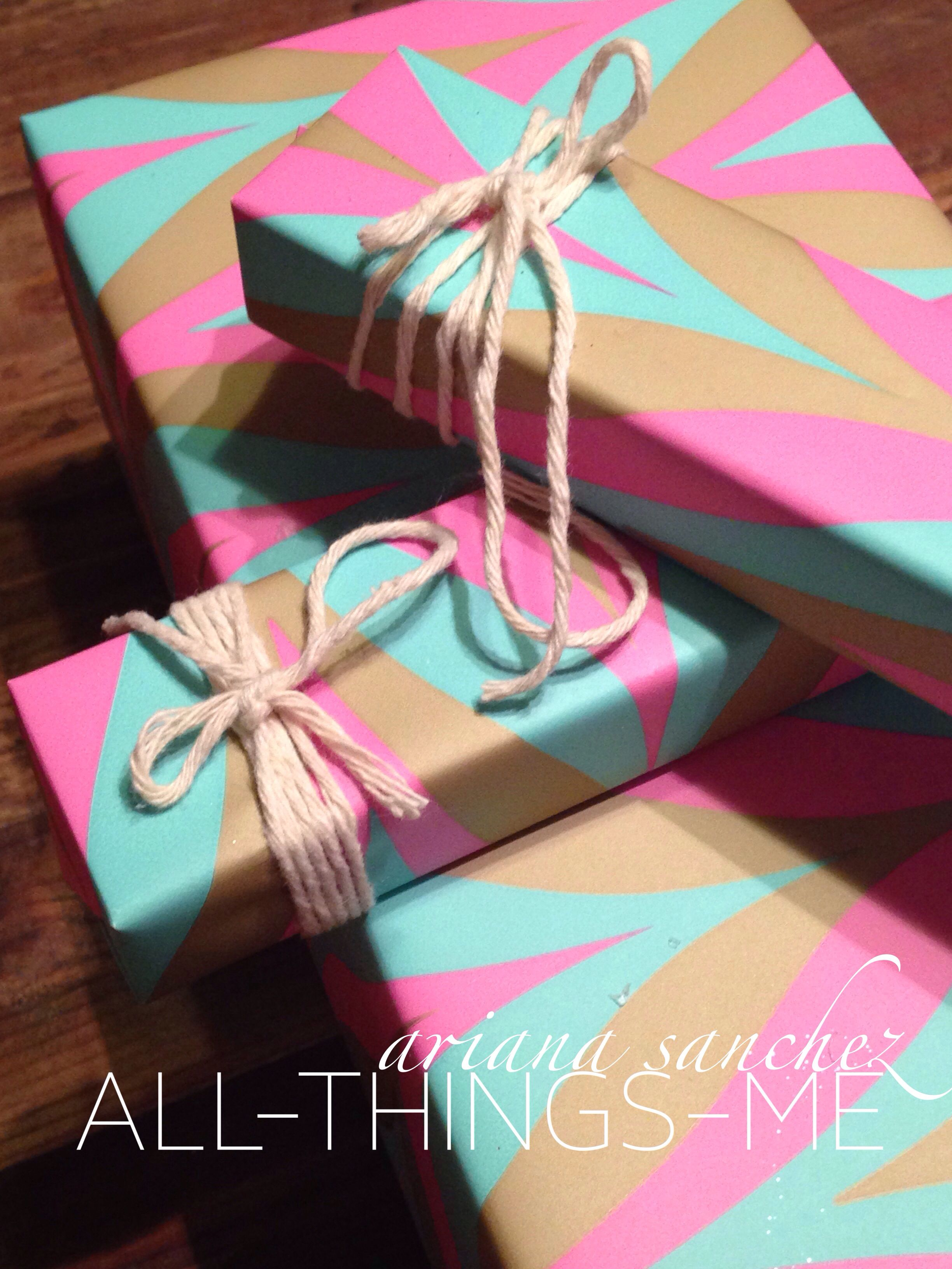 All-Things-Me: Non-Traditional holiday gift wrapping ...