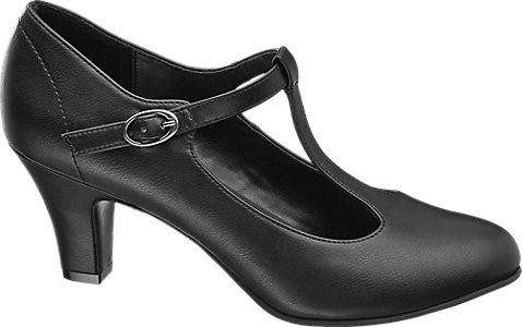 5b2b1d589ab6e Lodičky značky Graceland vo farbe čierna - deichmann.com | abc ...
