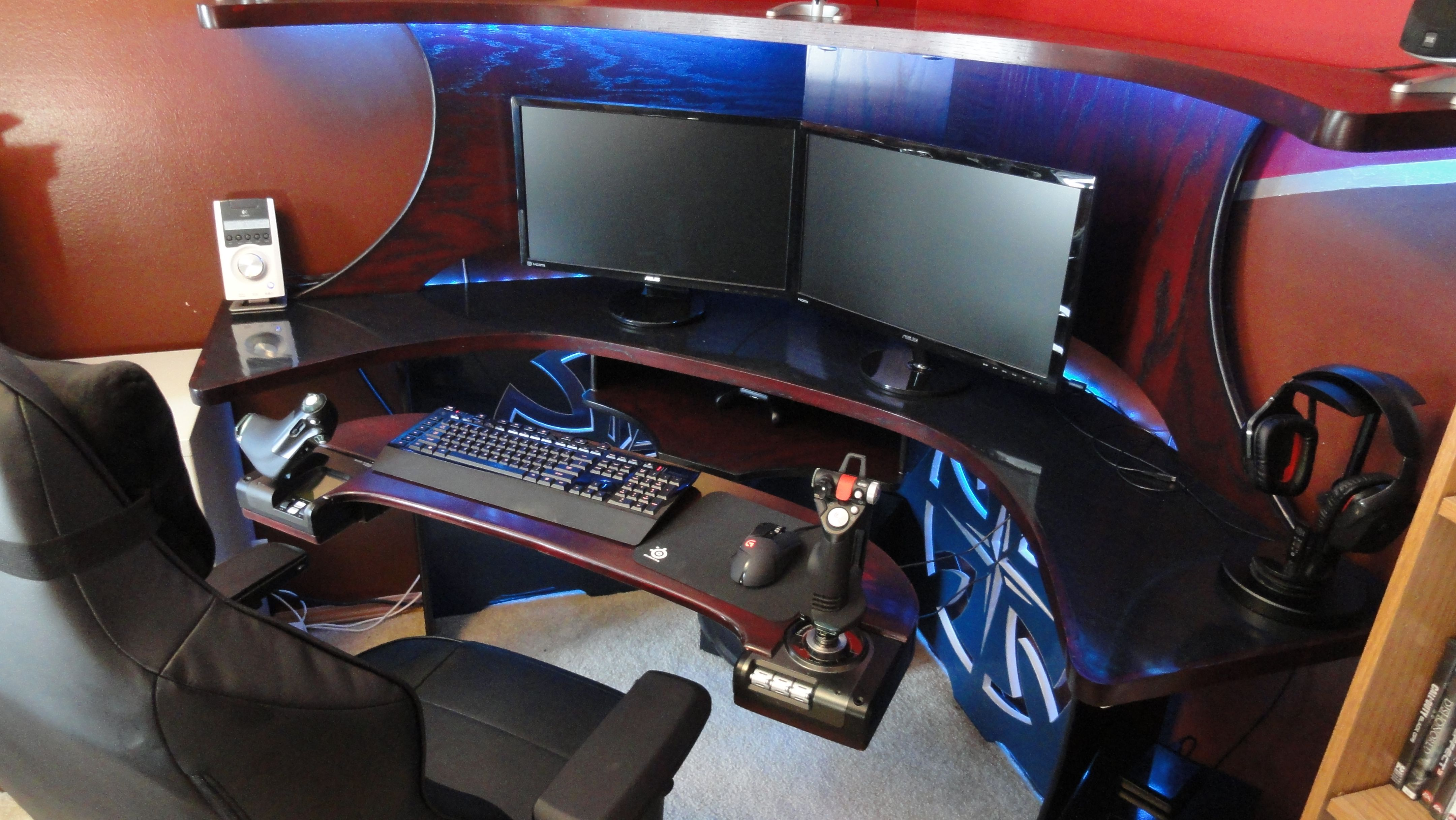 Instant Gaming Desk For Pc On Home Decor Ideas With Gaming Desk