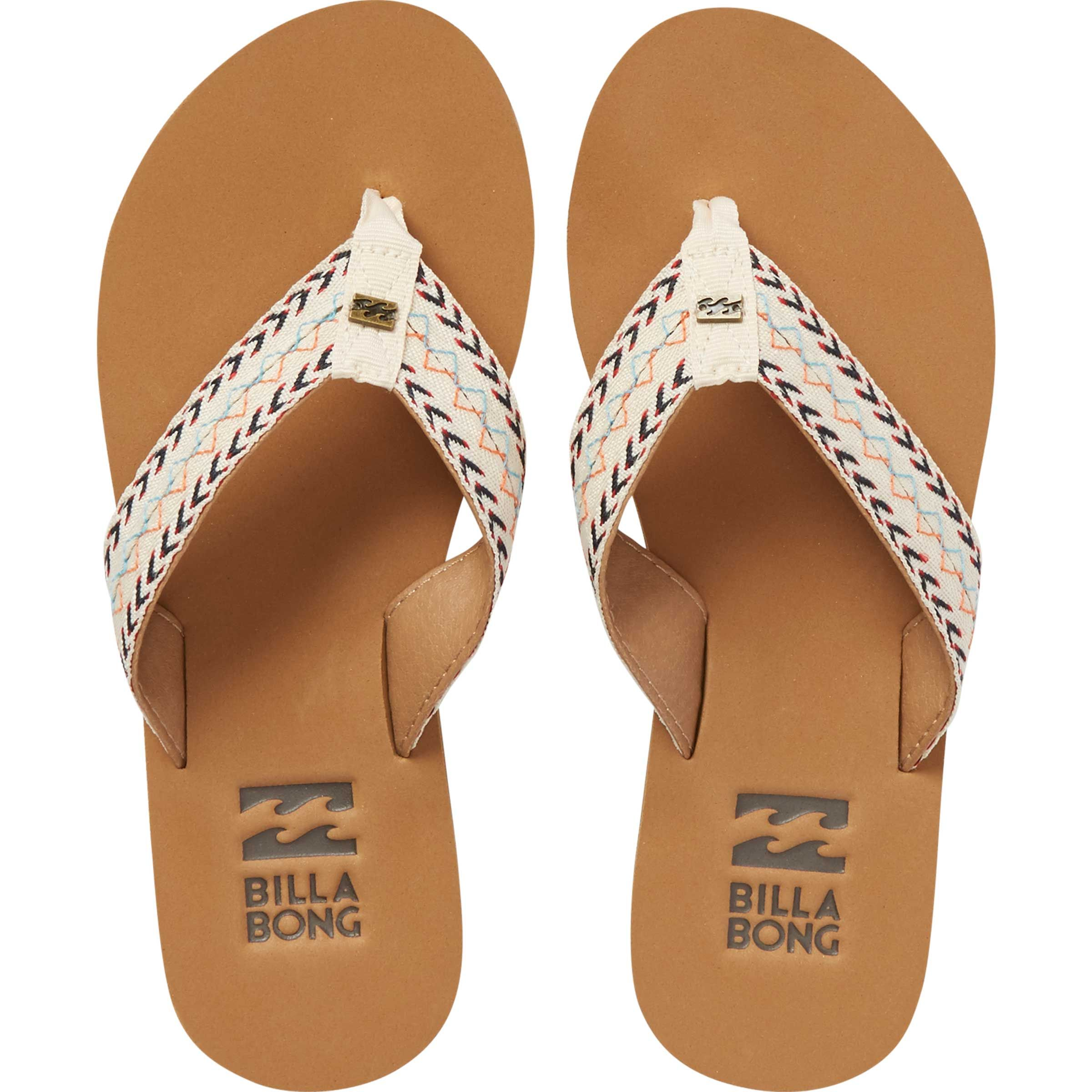 229cf5f4e3b510 Step out with nomadic vibes from head to sandy toes with the Baja Sandals.  A comfort-driven design is backed by custom woven straps and Billabong log.