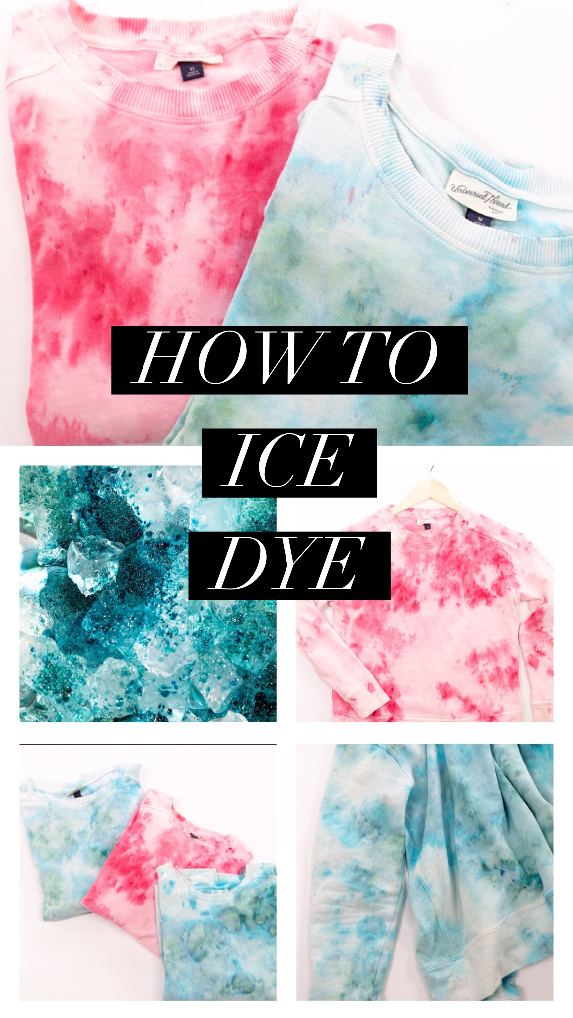 Photo of How to Ice Dye
