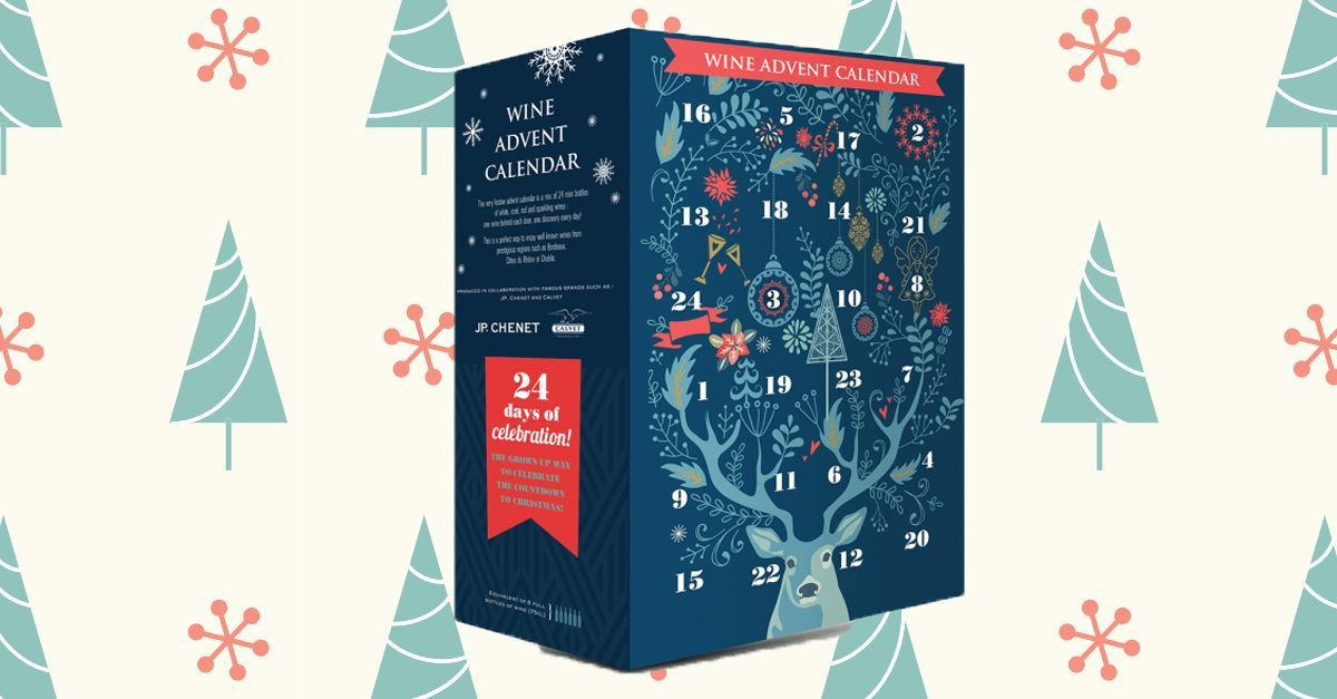 This Aldi Wine Advent Calendar Has 24 Days' Worth of Wine #wineadventcalendardiy This Aldi Wine Advent Calendar Has 24 Days' Worth of Wine #wineadventcalendardiy
