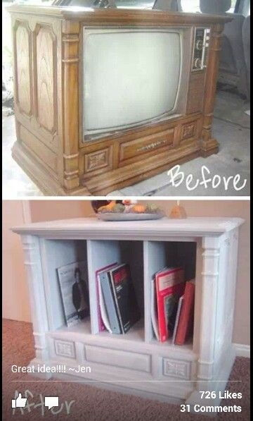 kitchen cabinets holders refurbished repurposed console tv feeling crafty 20508