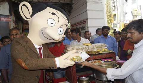 Comic character Mr. Bean in India to celebrate silver jubilee