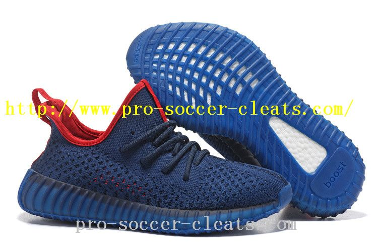 76aae0fd3a133 Adidas Yeezy Boost 350 V3 Mens Shoes Dark Blue Red On Sale US ...