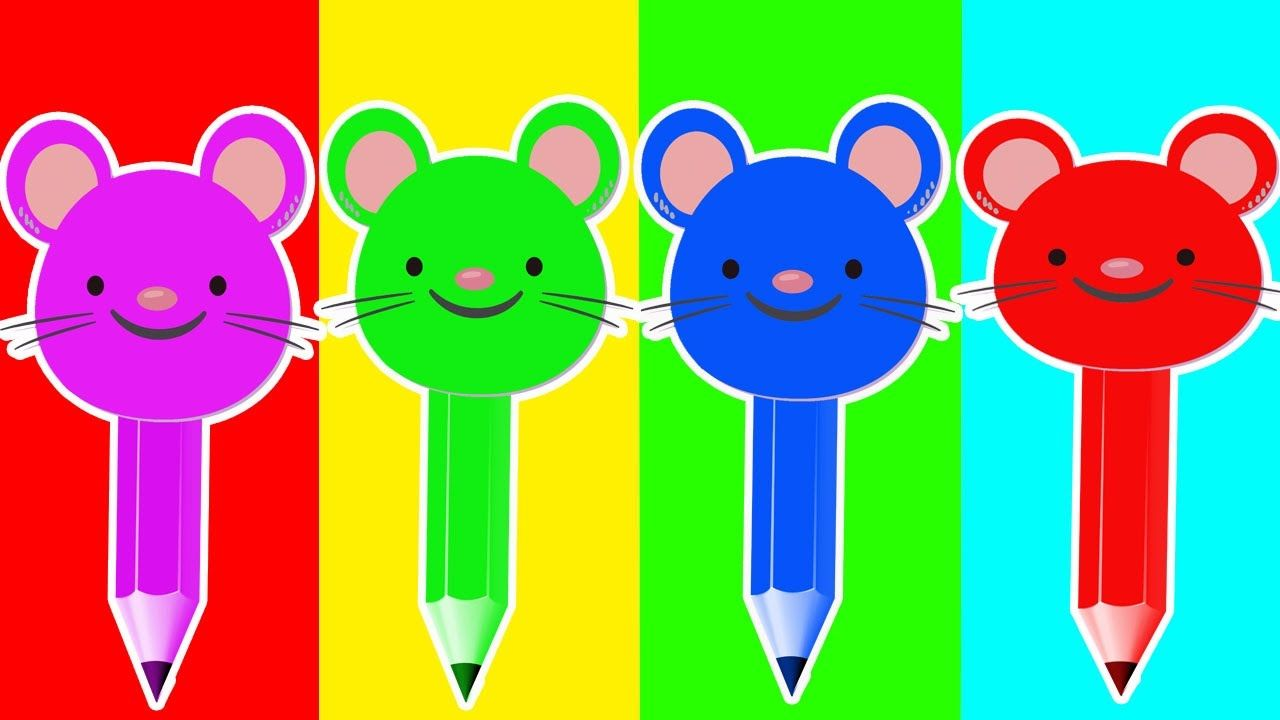 Learn Colors with Mickey and Balls for Children, Toddlers Learn ...