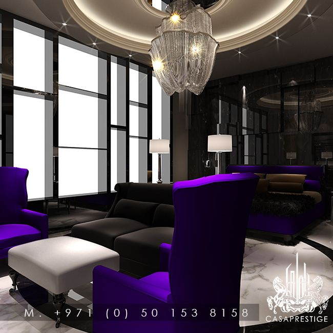 Luxury seating lighting fit out design from www - Interior design lighting companies ...