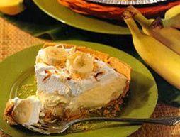 Easy No-Bake Desserts #bananapie