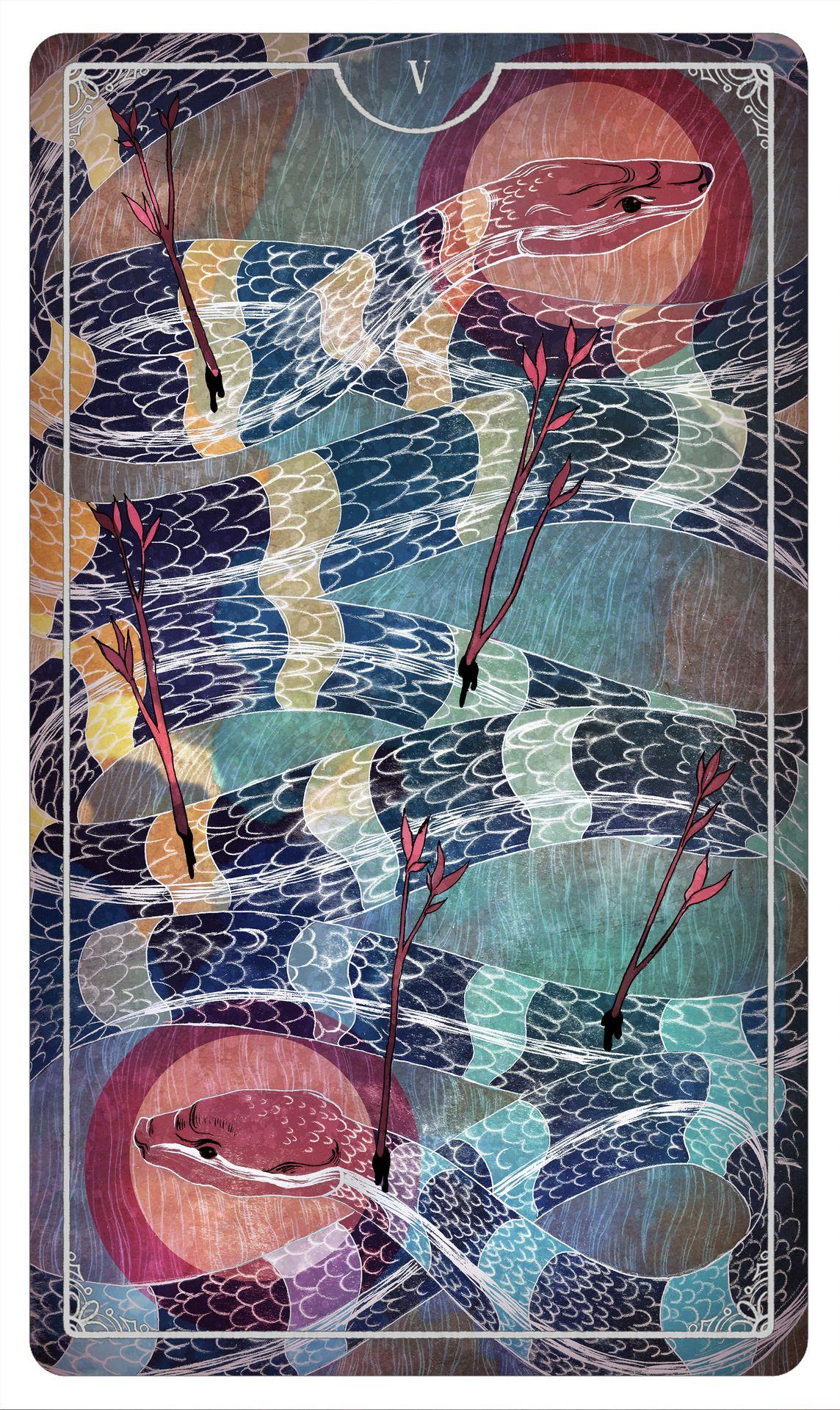 Tarot Card Created For Ostara Tarot Deck