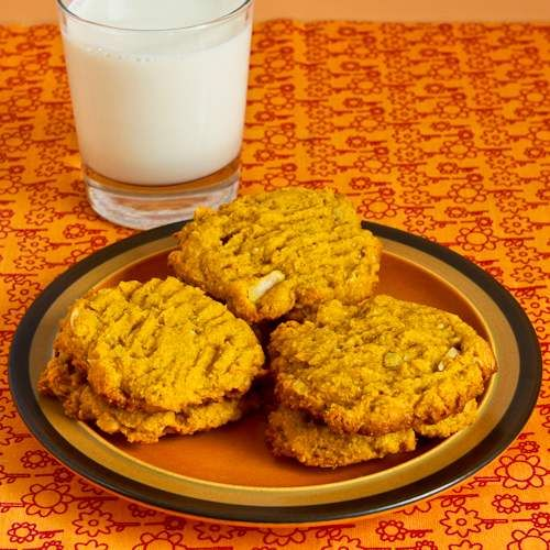 Pumpkin cookies oil recipe