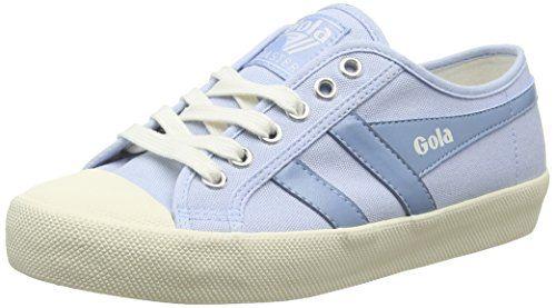 Gola Coaster, Zapatillas para Mujer, Azul (Denim/Off White EW Blue), 36 EU