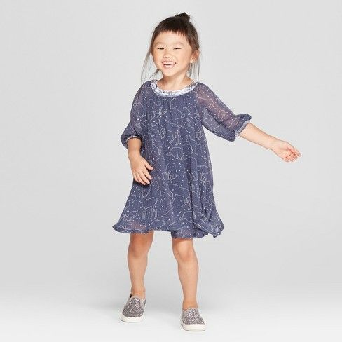 5ea1675f7f7f Toddler Girls  Constellation Dress - Genuine Kids® from OshKosh Blue ...