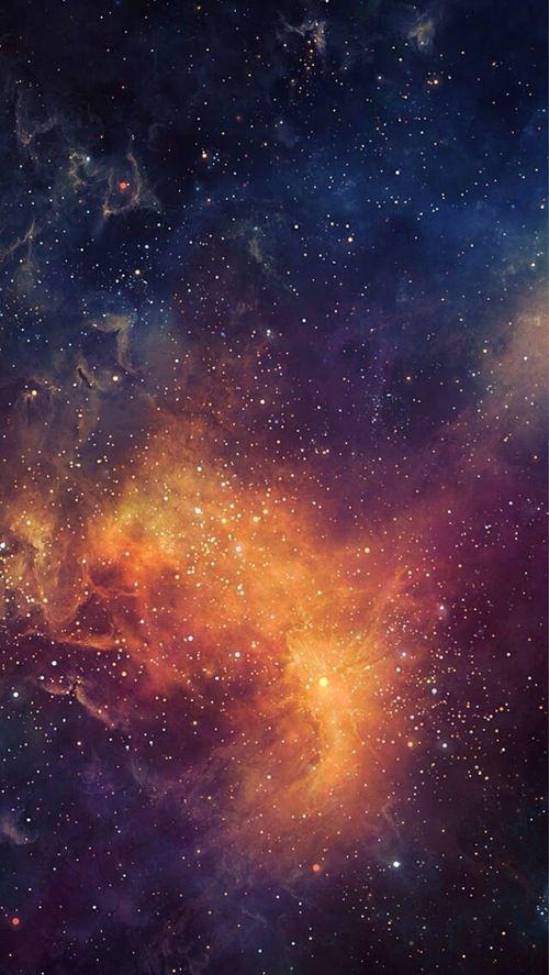 Beautiful Cosmos Nebulosa Espaco Sideral Papel De Parede Da Galaxia
