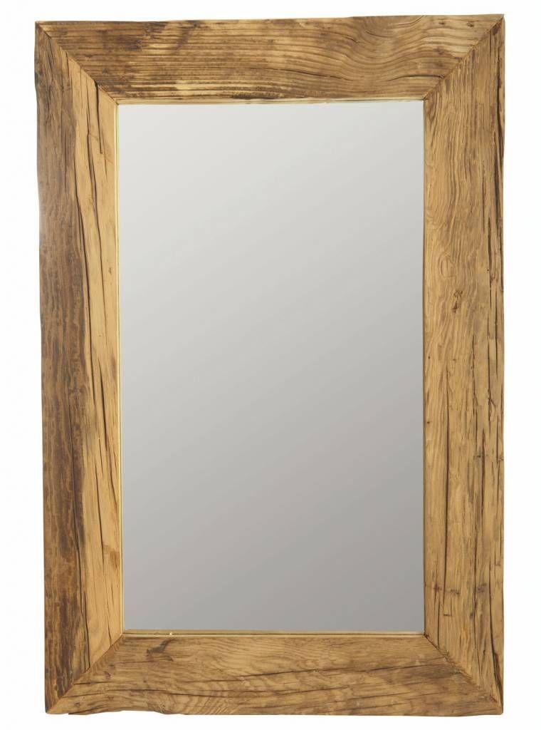 Schöner Spiegel von Housedoctor mit Rahmen aus recyceltem Holz - spiegel für schlafzimmer