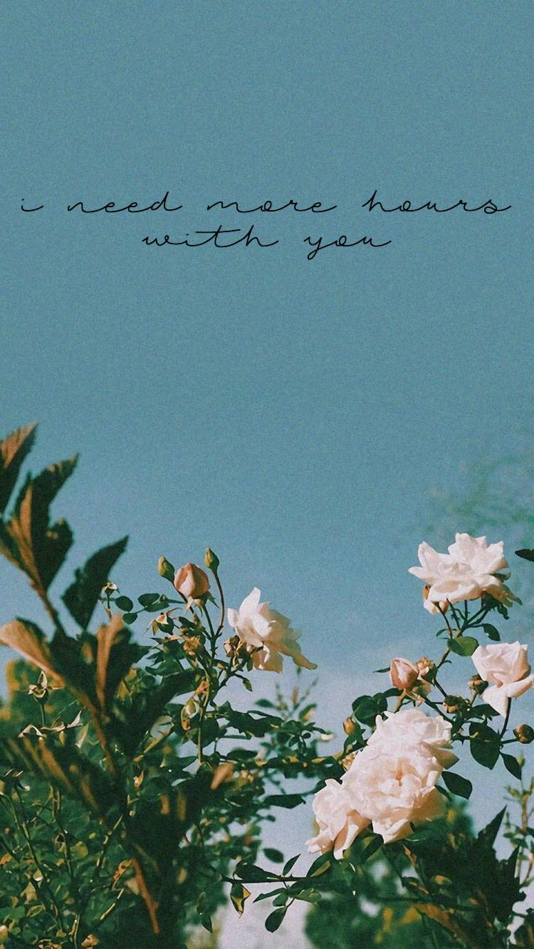 aesthetic lockscreen girls like you Flower wallpaper