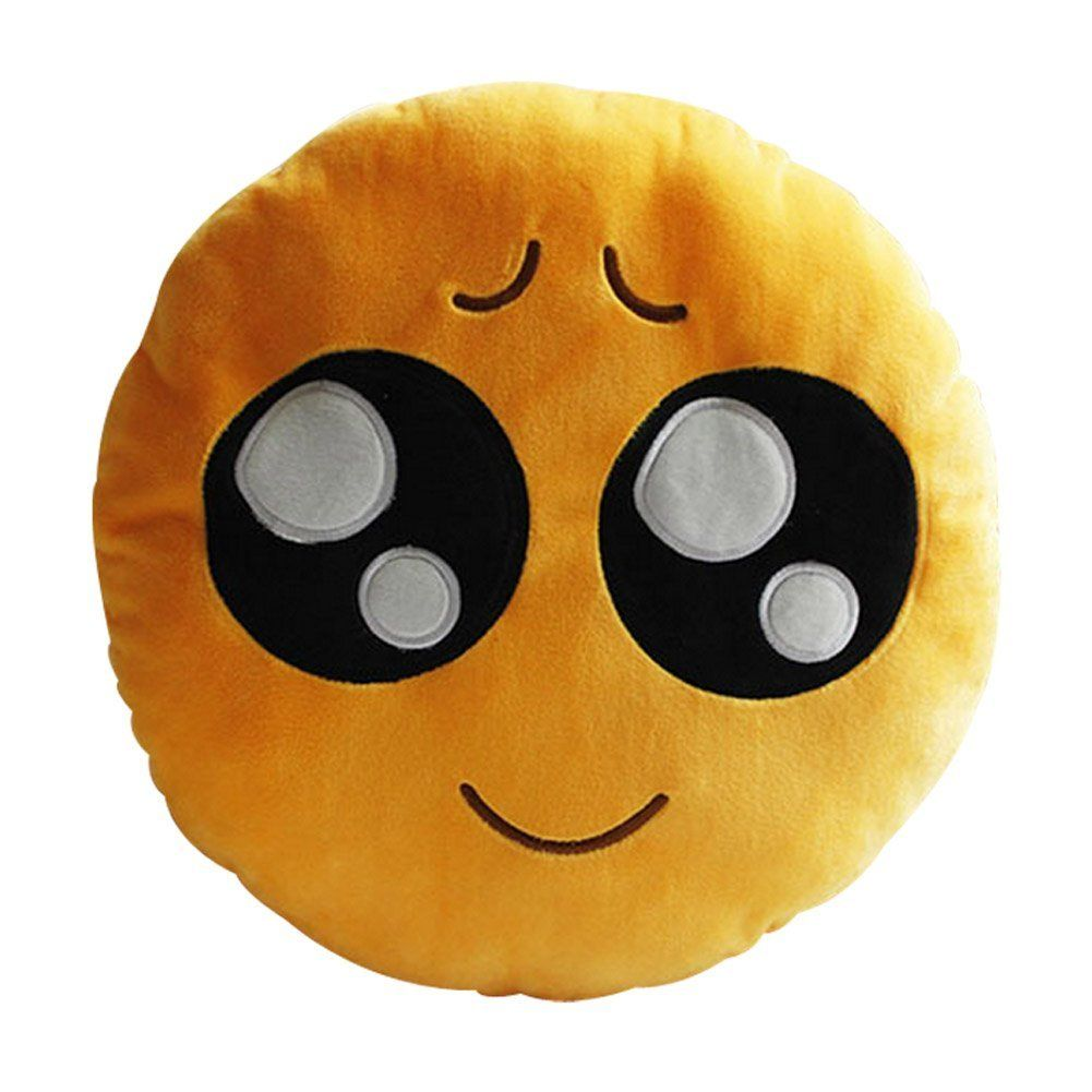 Emoji Pillows Give Stuffed Animals An Adult Makeover