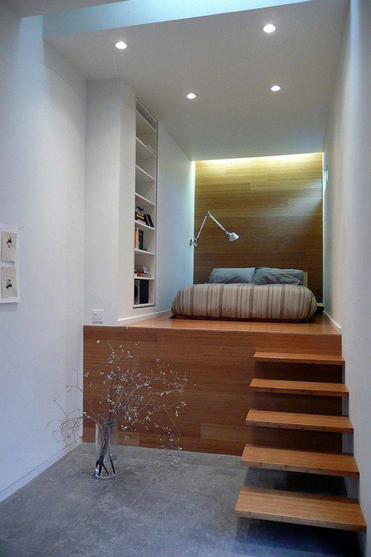 Choisir le lit estrade parfait pour vous id es et astuces marche en bois et lits for Lit estrade but