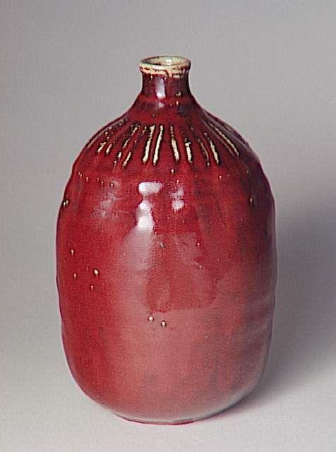Pierre-Adrien Dalpayrat (14 avril 1844 - 10 août 1910) Vase à panse large
